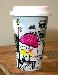 What A Cute Travel Mug!