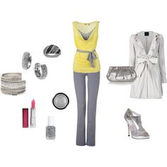 Silver Shine, created by cshaw74.polyvore.com
