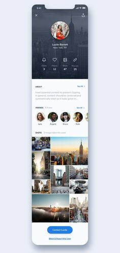 This is our daily iOS app design inspiration article for our loyal readers. Every day we are showcasing a iOS app design whether live on app stores or only designed as concept. Web And App Design, Ios App Design, Mobile App Design, Mobile Ui, Web Design Grid, Iphone App Design, Dashboard Design, Ui Design Tutorial, Application Iphone