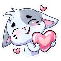 Telegram Sticker from collection «Бисквит Love Cartoon Couple, Telegram Stickers, Cute Animal Drawings, Happy Art, Cartoon Pics, Scrapbook Stickers, Watercolor Cards, Cute Love, Disney Art