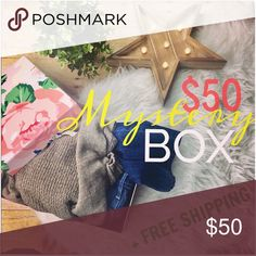 MYSTERY BOX OF 5 ITEMS + FREE SHIPPING Size XS Treat yourself to an awesome mystery box of 5 fashionable clothing items for only $50 + free shipping.   This is an amazing deal & super experience fun for the girl who loves surprises and trendy clothing!  All clothing will be in great condition!  Examples of brands are Gap, Old Navy, J. Crew, LOFT, American Eagle, Merona, Express, Banana Republic, and etc.   May include tops, jeans, pants, skirts, coats, and/or sweaters  *If you do not like…