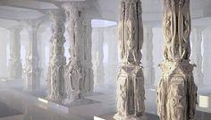 some paper columns