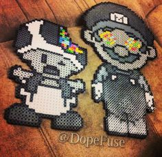 Zombie Mario Perler Hama Melty Fuse Beads http://mistertrufa.net/sugarshop/index.php