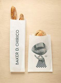 Baker D Chirico packaging. Fabio Ongarato Design.