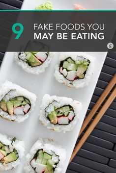 Don't be fooled by the names of these deceiving (but also delicious) foods. Here's what's safe and what you probably want to avoid. #ingredients #sushi #popcorn http://greatist.com/eat/foods-arent-what-they-seem
