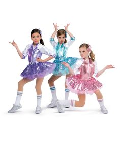 18924 - Royals colors: 54 Aqua, 69 Lavender, 75 Candy Pink by A Wish Come True Dance Costumes Kids, Tap Costumes, Dance Outfits, Dance Dresses, Girl Outfits, Baile Jazz, Dance Moms Girls, Cool Kids Clothes, Beautiful Costumes