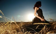 Lonely Girl Wallpaper » WallDevil - Best free HD desktop and ...