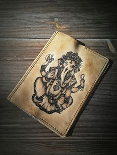 обложка для паспорта (Ganesha)