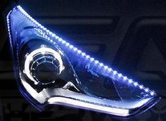 Korean Auto Imports - Veloster LED Headlight Eyeline Kit, $99.95 (http://koreanautoimports.com/veloster-led-headlight-eyeline-kit/)