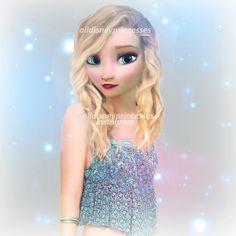 Modern Elsa | @alldisneyprincesses on Instagram