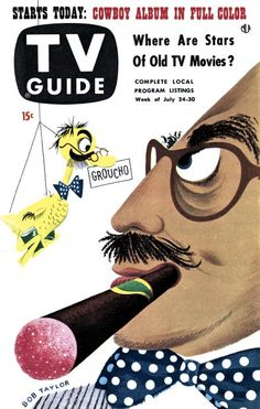 TV Guide, July 24, 1953 - Groucho Marx