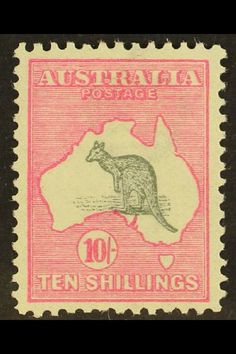 Selling By Auction / Stamps - King George V - Heads Stamp Collection Value, King George V, Stamp Values, Australia Kangaroo, Rare Stamps, Australian Animals, Stamp Collecting, Postage Stamps, Vibrant Colors