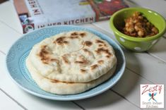 The Best Indian Bread Flour Recipes on Yummly Moroccan Pastries, Moroccan Bread, Easy Bread Recipes, Flour Recipes, Indian Flat Bread, Indian Kitchen, Spinach And Cheese, Best Dishes, Fun Cooking