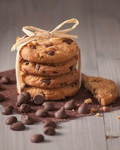 Celebrate national cookie days with yummy chocolate chip cookies!