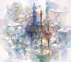 yuko nagayama, watercolor, life, acuarela, nagayama aquarell, art, inspir, paint, watercolour