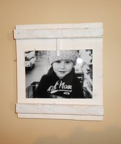 Rustic Picture Frame From Reclaimed Wood by Lilpicker on Etsy, $20.00