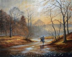 View and buy the latest artwork from Jeff Rowland. We have a large collection of Jeff Rowland artwork. City Landscape, Landscape Paintings, Pop Art Studio, Rain Photo, Painting Videos, Art Techniques, Artist Art, Beautiful Landscapes, Watercolor Paintings