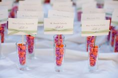 Love purple and orange toegther. wedding photo by Melissa Jill Photography