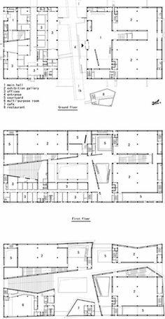 Ningbo Museum / Ningbo, China, 2003- 2008 / Wang Shu (Chinese architect, b. 1963)