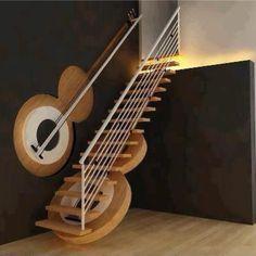Guitar Design InspiredStairs
