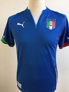 ITALY Football Shirt 2013 HOME Size S SMALL Puma | eBay