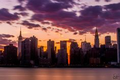NYC at Sunset from Gantry Plaza State Park (first try at long exposure!) [2048x1365][OC]