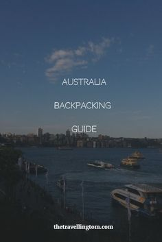 Fancy travelling to Australia!? Then check out my guide to backpacking in this amazing country!