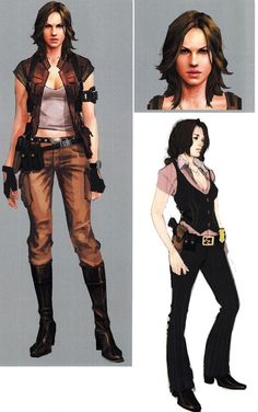 Helena RE6 Extra Costume 4 by Sparrow-Leon on deviantART