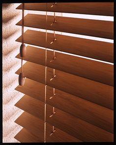 Image result for wood slat blinds