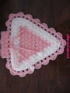Crochet Girls Dress Pattern, Crochet Motif, Easter Crochet, Crochet Baby, Baby Knitting Patterns, Doilies, Diy And Crafts, Fiber, Blog