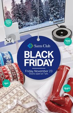 Sam's Club Black Friday Ad Hunter Rain Boots