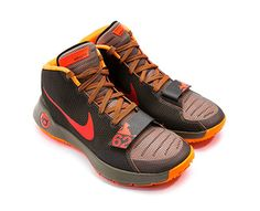 Basketball Shoes by NIKE. Kick your game into overdrive when you lace up these KD Trey 5 III Basketball Shoes from Nike. This high-performance pair features a lightweight and breathable upper with a Phylon foam midsole and Nike Zoom Air unit in its forefoot. The rubber outsole offers traction needed for fast breaks and quick cuts. http://www.zocko.com/z/JJoiD