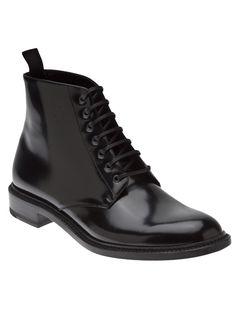Saint Laurent Army Lace-up Boot
