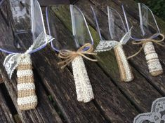 Rustic Chic Candy Buffet Scoops / Shabby Chic by DaisyDazeDesign, $25.75