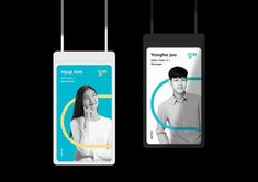 Identity Card Design, Brochure Design, Visual Identity, Branding Design, Brand Identity, Employee Id Card, Lanyard Designs, Web Design, Event Banner
