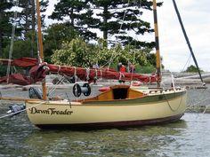 William Garden's Eel Canoe Yawl ... aptly named Dawn Treader. ;D