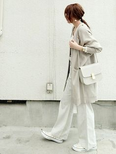casual summer outfits for women Japan Fashion, Suit Fashion, Daily Fashion, Love Fashion, Autumn Fashion, Fashion Outfits, Womens Fashion, Fashion Tips, Fashion Trends