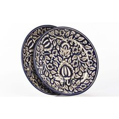 Cultural Concepts Mughal Full Plate White