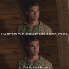 Insurgent Tobias 'Four' Book Quote