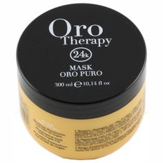 Fanola Oro Puro Illuminating Keratin Argan Mask, 300 ml Keratin, Hair Care, Masks, Therapy, Gold, Beauty, Wellness, Hair Care Tips, Hair Makeup