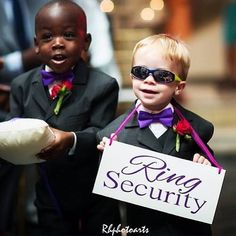 Cute Ring Bearer Idea!! Visit http://www.brides-book.com for more great wedding resources