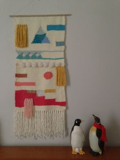 Maryanne Moodie woven tapestry wall hanging
