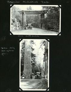 Gerhke Mt Rainier National Park journal page, 1921