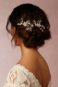 Hair piece and relaxed elegant style updo