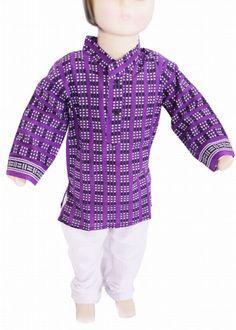 Kids Ethnic Wear, Baby Boys White Cotton Readymade kurta Pajama ...