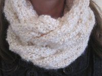 Cabled Cowl Scarf