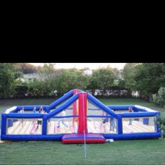 inflatable volleyball. This is so awesome!
