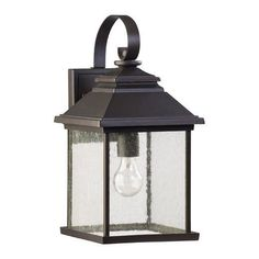 View the Quorum International 7940-9 Pearson 1 Light Outdoor Wall Sconce at LightingDirect.com.