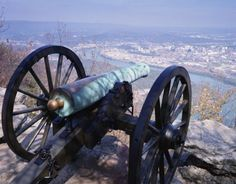 Lookout Mountain  Chattanooga, Tennessee Battlefield