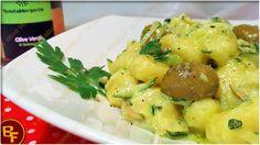 Gnocchi di patate con crema di zucchine olive e curcuma 02